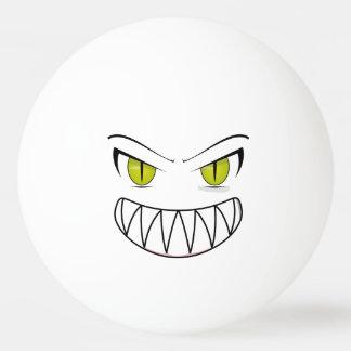 Boule de ping-pong fâchée balle tennis de table