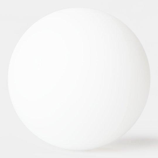 1 étoile Balles de Ping Pong
