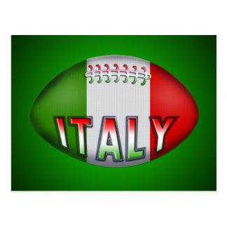 Boule de rugby de l Italie Cartes Postales