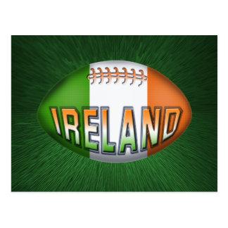 Boule de rugby de l'Irlande Carte Postale