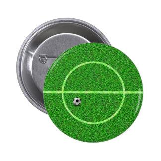 Boule de terrain de football du football - bouton badges