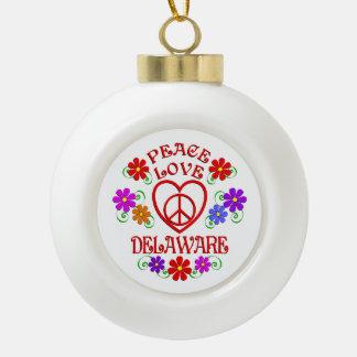 Boule En Céramique Amour Delaware de paix