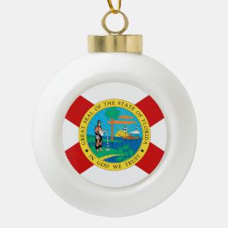 Boule En Céramique Conception de drapeau de la FLORIDE -