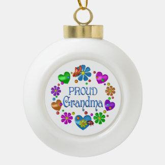 Boule En Céramique Grand-maman fière