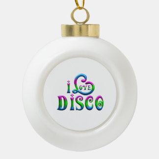 Boule En Céramique J'aime la disco
