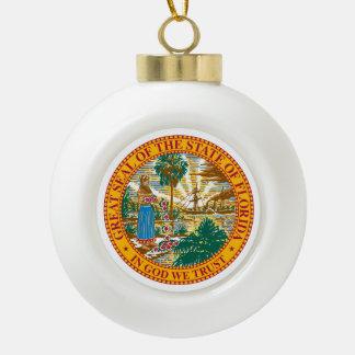 Boule En Céramique Joint d'état de la Floride -