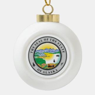 Boule En Céramique Joint d'état de l'Alaska -