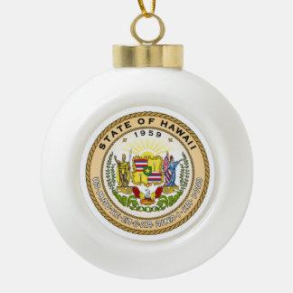 Boule En Céramique Joint d'état d'Hawaï -