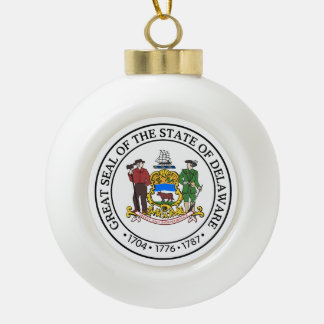 Boule En Céramique Joint d'état du Delaware -