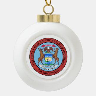 Boule En Céramique Joint d'État du Michigan -