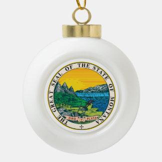 Boule En Céramique Joint d'état du Montana -