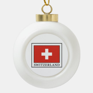 Boule En Céramique La Suisse