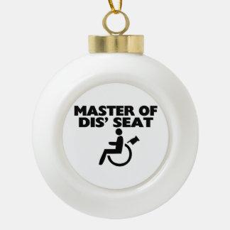Boule En Céramique Maître du fauteuil roulant de Seat du DIS