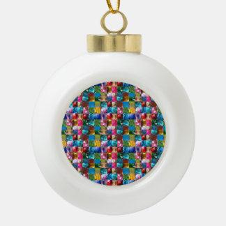 Boule En Céramique Motif en pierre en cristal de bijou