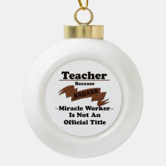 Boule En Céramique Professeur