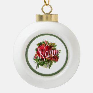 Boule En Céramique Roses roses victoriens vintages de Nana