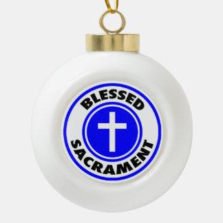 Boule En Céramique Sacrement béni