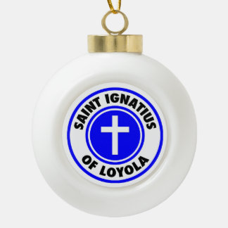 Boule En Céramique Saint Ignatius de Loyola