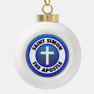 Boule En Céramique Saint Simon l'apôtre