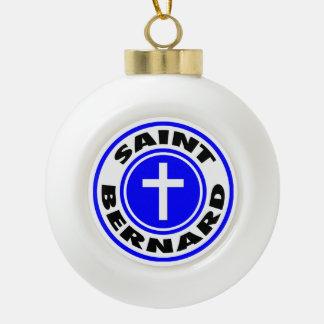 Boule En Céramique St Bernard