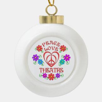 Boule En Céramique Théâtre d'amour de paix
