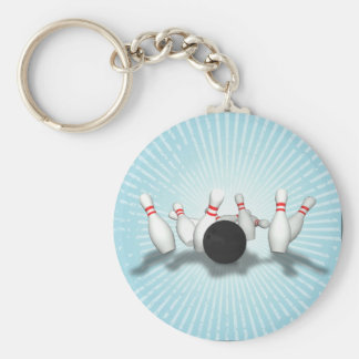 Boule et goupilles de bowling : modèle 3D : Keycha Porte-clé