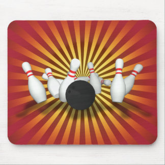 Boule et goupilles de bowling : modèle 3D : Mousep Tapis De Souris
