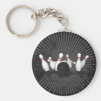 Boule et goupilles de bowling : modèle 3D : Porte Porte-clé Rond