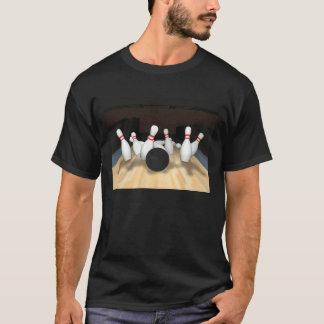 Boule et goupilles de bowling : modèle 3D : T-shirt