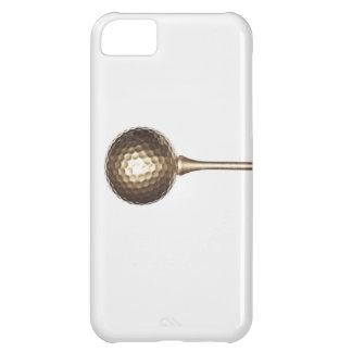 Boule et pièce en t de golf d'or coque iPhone 5C