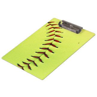 Boule jaune du base-ball