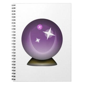 Boule magique en cristal - Emoji Carnet