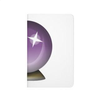 Boule magique en cristal - Emoji Carnet De Poche