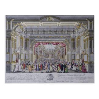 Boule suivant le couronnement de Leopold Carte Postale