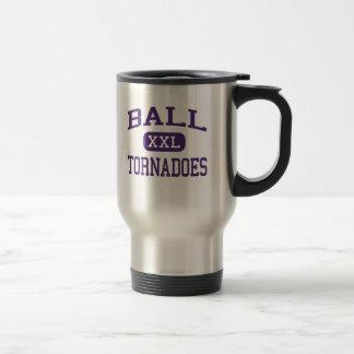 Boule - tornades - lycée - Galveston le Texas Mug De Voyage