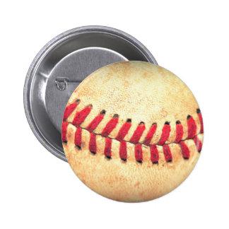 Boule vintage de base-ball badge rond 5 cm