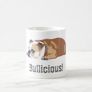 """Bouledogue anglais de """"Bullicious"""" de tasse de"""