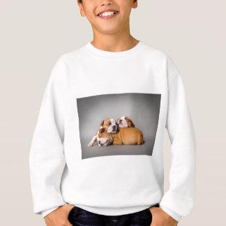 Bouledogue anglais de sommeil sweatshirt