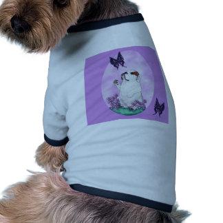 Bouledogue anglais priant le chiot manteaux pour chien