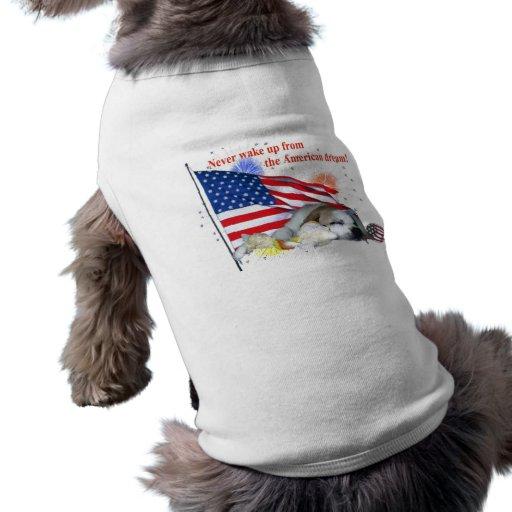 Bouledogue anglais - rêve américain manteaux pour chien