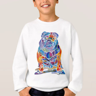 Bouledogue anglais sweatshirt