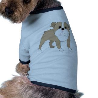 Bouledogue anglais tee-shirts pour toutous