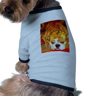 Bouledogue anglais t-shirts pour toutous