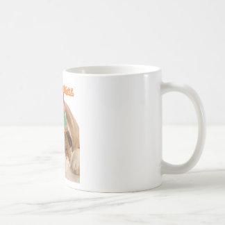 Bouledogue animal de sommeil de Cadeau-Partie Mug Blanc