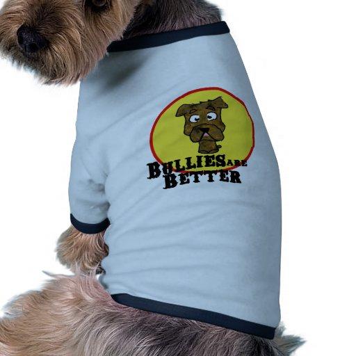 Bouledogue Brindle/Mastif (les despotes sont meill Tee-shirt Pour Chien
