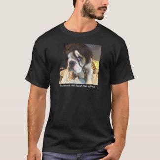 Bouledogue dans l'entrave - appel Sarah McLachlan T-shirt