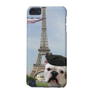 Bouledogue français à Paris Coque iPod Touch 5G