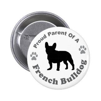 Bouledogue français badge rond 5 cm