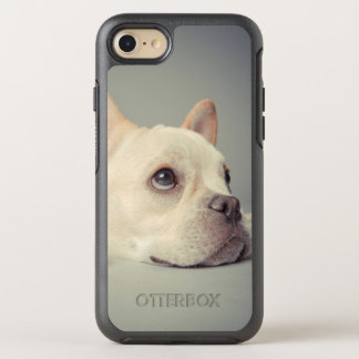 Bouledogue français ennuyé coque otterbox symmetry pour iPhone 7