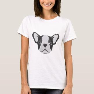 Bouledogue français mignon d'illustration t-shirt